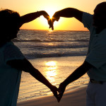Photo Blog Sunset Heart