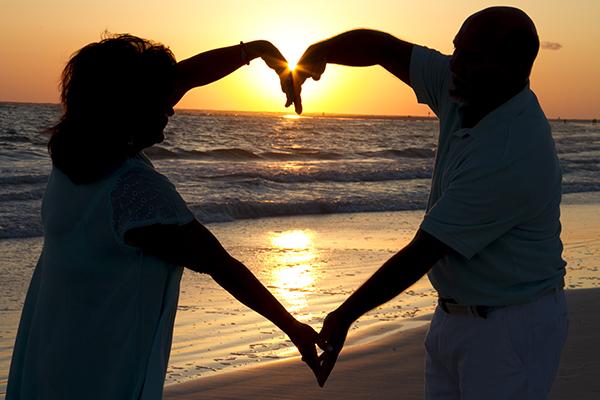 Photo Blog Sunset Heart