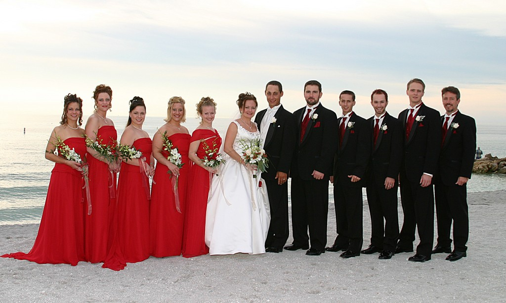 Formal Elegant Manasota Key Wedding