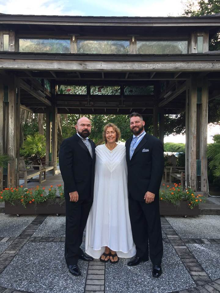 SARASOTA WEDDING OFFICIANT/MINISTER- LGBT SELBY GARDENS