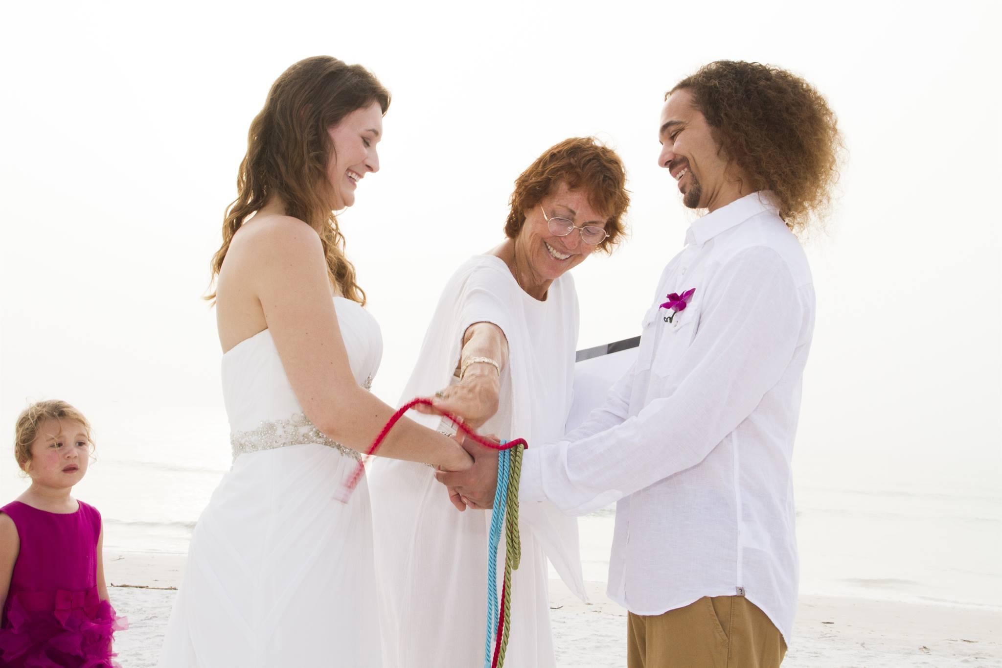 ANNA MARIA WEDDING-HANDGFASTING